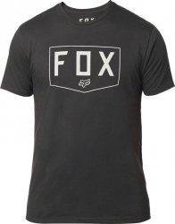FOX T-SHIRT  SHIELD PREMIUM BLACK VINTAGE