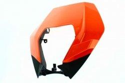 Owiewka lampy Acerbis KTM 2008 - 2013 pomarańczowy