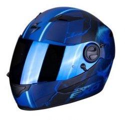 SCORPION KASK  INTEGRALNY EXO-490 DAR MATT BLUE
