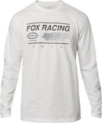 FOX KOSZULKA Z DŁUGIM RĘKAWEM GLOBAL OPTIC WHITE