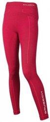 BRUBECK LE11130 Spodnie damskie EXTREME WOOL burgundowe