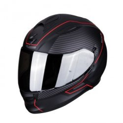 SCORPION KASK INTEG EXO-510 AIR FRAME MATT BLA-RED