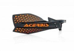 Acerbis Handbary X-Ultimate czarno - pomarańczowy