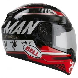 BELL KASK INTEGRALNY QUALIFIER DLX ISLE OF MAN B/R