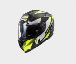 KASK LS2 FF327 CHALLENGER SQUADRON HV YELLOW
