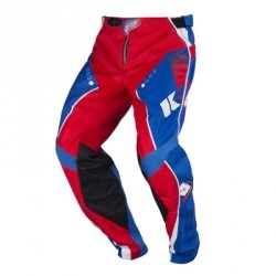 KENNY SPODNIE OFF-ROAD TRACK KID BLUE-RED