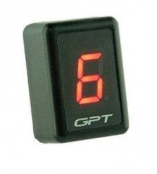 GPT uniwersalny wyświetlacz biegów red GI1001R