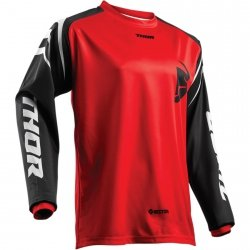 THOR BLUZA YOUTH SECTOR ZONES OFFROAD RED =$