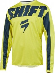 SHIFT BLUZA OFF-ROAD  WHIT3 YORK YELLOW/NAVY