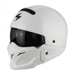 SCORPION KASK EXO-COMBAT SOLID WHITE
