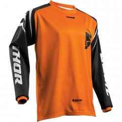 THOR BLUZA YOUTH SECTOR ZONES OFFROAD ORANGE =$