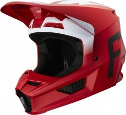 FOX KASK OFF-ROAD V-1 WERD FLAME RED