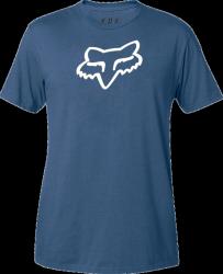 FOX T-SHIRT LEGACY FOX HEAD DUSTY BLUE