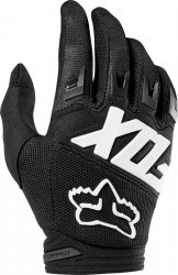 FOX RĘKAWICE OFF-ROAD JUNIOR DIRTPAW RACE BLACK