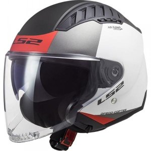 KASK LS2 OF600 COPTER URBANE MATT WHITE RED