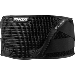 THOR PAS YOUTH CLINCH SUPPORT BELT BLACK/WHITE =$