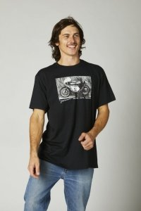 FOX T-SHIRT YOSHIMURA RACER PROFILE BLACK