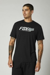 FOX T-SHIRT CNTRO TECH BLACK