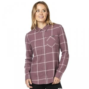 FOX KOSZULA LADY ROOST FLANNEL PURPLE