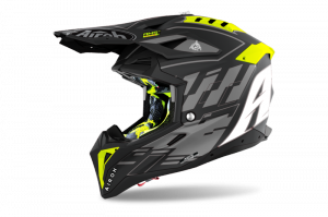 AIROH KASK OFF-ROAD AVIATOR 3 RAMPAGE BLACK MATT