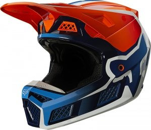 FOX KASK OFF-ROAD V-3 RS WIRED ORANGE