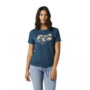 FOX T-SHIRT LADY PALMS DARK INDIGO