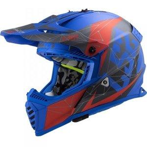 KASK LS2 MX437 FAST EVO ALPHA BLUE