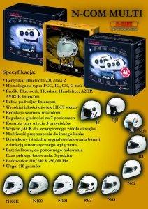 N-COM MULTI - Basic Kit Multi, Bluetooth Kit Multi