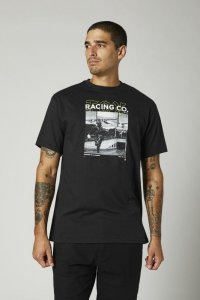 FOX T-SHIRT DECRYPTED BLACK