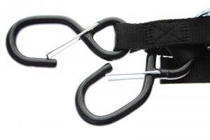 Acerbis Pasy do mocowania motocykla 25 MM czarny