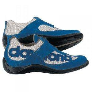 Buty Daytona Moto-fun niebiesko-srebrne