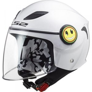 KASK LS2 OF602 FUNNY JUNIOR WHITE