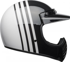 BELL KASK OFF-ROAD MOTO-3 REVERB WHITE/BLACK