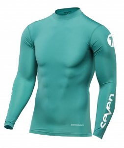 SEVEN KOSZULKA OFF-ROAD ZERO COMPRESSION AQUA
