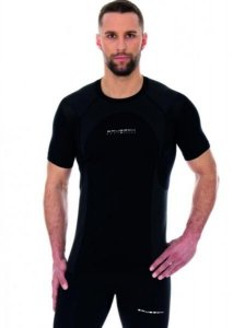 Brubeck SS12510 Koszulka męska DYNAMIC OUTDOOR czarny