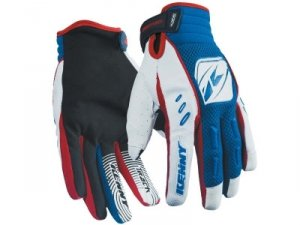 KENNY RĘKAWICE OFF-ROAD TRACK BLUE/WHITE/RED