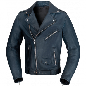 BUSE Kurtka motocyklowa Lancaster niebieska