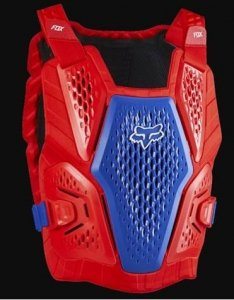 FOX BUZER RACEFRAME IMPACT CE BLUE/RED