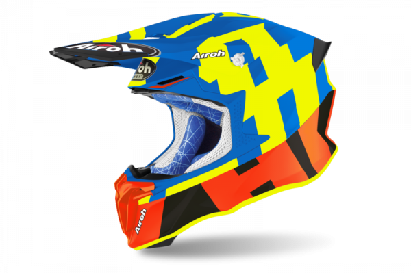 AIROH KASK OFF-ROAD TWIST 2.0 FRAME AZURE MATT