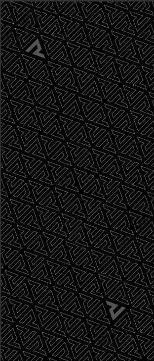 REBELHORN KOMIN DUCT NECKWEAR/TUBULAR BLACK/GREY