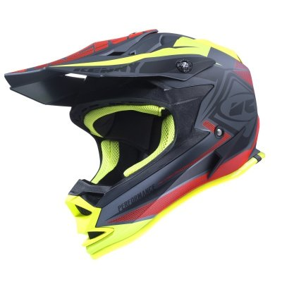 KENNY KASK  PERFORMANCE KID BLACK/RED/YELLOW 2017