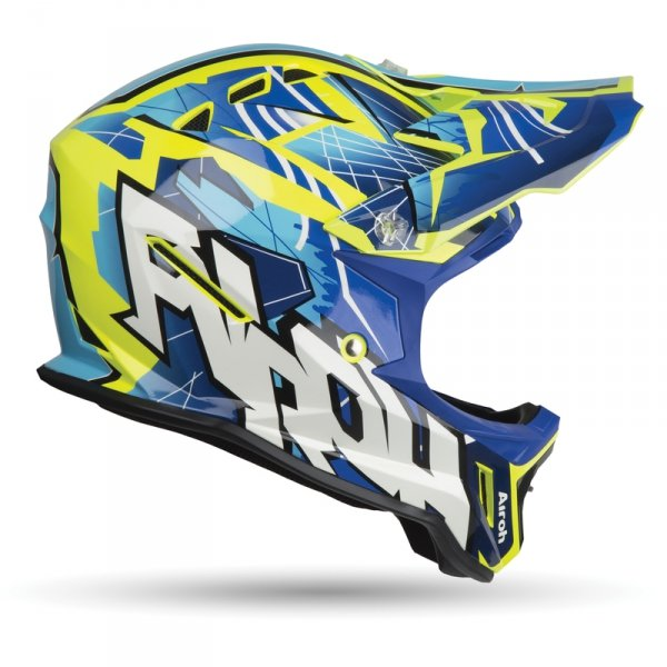 AIROH KASK OFF-ROAD JUNIOR ARCHER BUMP GLOSS