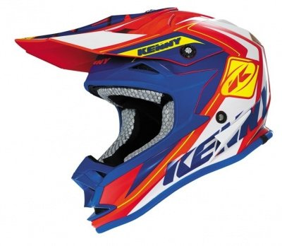 KENNY KASK OFF-ROAD  PERFORMANCE KID RED-BLUE