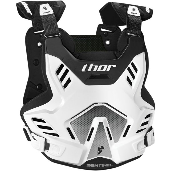 THOR BUZER YOUTH SENTINEL GP S16Y WHITE/BLACK =$