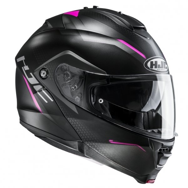 HJC KASK SYSTEMOWY  IS-MAX II DOVA BLACK/PINK