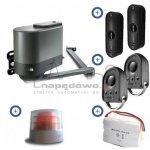Zestaw Somfy Axovia MultiPro 3S io 24V Comfort Pack (2 piloty 4-kanałowe Keygo, lampa, akumulator, fotokomórki)