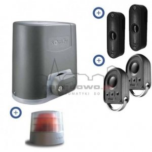 Zestaw Somfy Elixo 500 230V Comfort+ Pack (2 piloty 4-kanałowe Keygo, lampa Master Pro, fotokomórki)