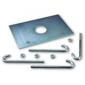 SIA1 (WIDE M) / SIA2 (WIDE L) płyta montażowa z kotwami