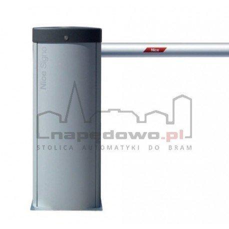 Szlaban Zestaw SIGNO4 z ramieniem tubowym 4 m