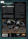 W40k Codex Grey Knights tył okładki